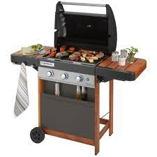 cuisiner avec barbecue a gaz barbecue à gaz cingaz 3 séries woody l barbecue à gaz
