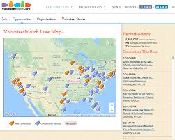 United States Of America Google Map by Volunteermatch U2013 Google Earth Outreach