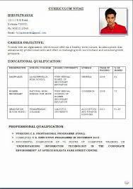 Free Downloadable Resume Download A Resume Template Free Curriculum Vitae Template Word