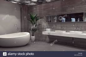 Cheap Modern Bathroom Suites Modern Bathroom Suite With A Vanity And Boat Shaped Bathtub