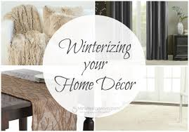 Your Home Decor by Winterizing Your Home Décor