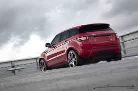 kahn range rover project kahn touches up another range rover evoque