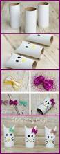 Toilet Paper Roll Crafts For Halloween by Simple Hello Kitty Craft Using Toilet Paper Rolls Hello Kitty