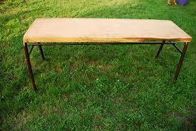 Etabli De Menuisier Ancien En Bois Grande Table En Cèdre 195 De Long Par 80 De Haut Par 60 De Large