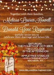 Thanksgiving Invitations Templates Free 24 Fall Wedding Invitation Templates U2013 Free Sample Example