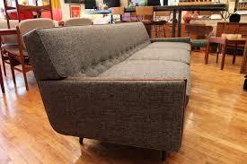 mid century modern sofas grey vintage mid century modern sofa