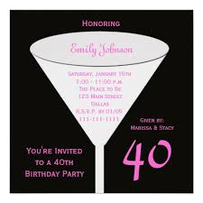 invitation templates 40th birthday 4 birthdays