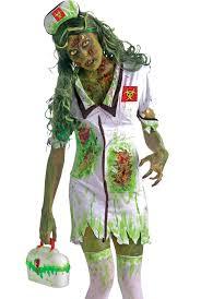 Zombie Costume Women U0027s Biohazard Nurse Zombie Costume Zombie Halloween Costume