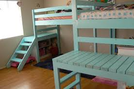 build your kids a loft bed with stairs your projects obn