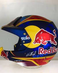 motocross helmet red bull creativity the man behind al attiyah u0027s helmet designs