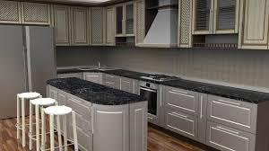 black cabinet kitchen ideas kitchen 3d kitchen design ideas amazing 3d kitchen design with