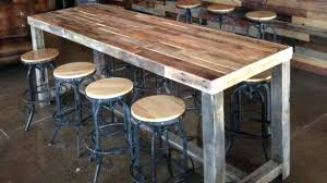 diy bar height table diy pub table counter height table with pipe legs kitchen island
