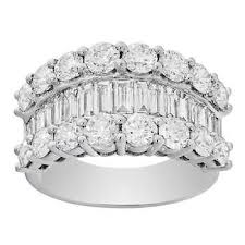 baguette diamond band diamond bands costco
