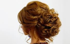 voluminous updo braided bun for prom wedding cute