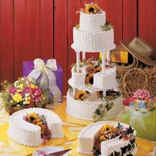 horseshoe layer wedding cake recipe taste of home