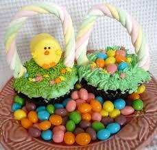 easter stuff easter basket cupcakes sweet simple stuff