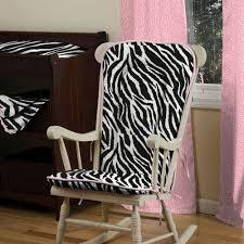 Interior & Architecture Black And White Zebra Nursery Decor