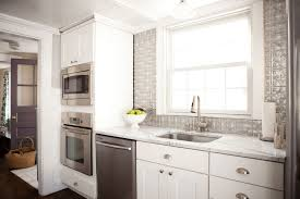 Images Of White Kitchens With White Cabinets 5 Ways To Redo Kitchen Backsplash Without Tearing It Out