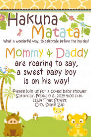 baby shower invitations lion king home decorating interior