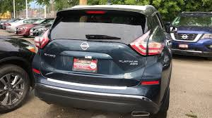 2017 nissan murano platinum silver new murano for sale in chicago il western ave nissan