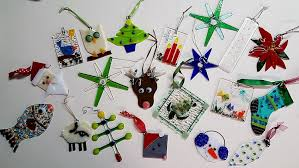 fused glass ornaments visual arts katonah center