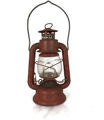 american lantern lighting company vintage dietz comet railroad lantern red lantern with clear globe
