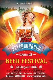 get free beer festival flyer template psd flyershitter com