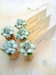 Table Card Holders by Succulent Place Card Holder U0026 Blank Place Cards For Wedding Mint