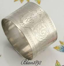 antique rabbit ring holder images 126 best napkin rings of old images napkins silver jpg