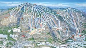 Colorado Ski Resort Map by Okema Mountain Alpine Trail Maps Skiing Pinterest Trail Maps