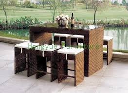 Patio Bar Furniture Set by Online Get Cheap Wicker Bar Furniture Aliexpress Com Alibaba Group