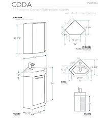 bathroom vanity cabinet dimensions bathroom vanity cabinet height
