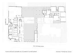 plan d une cuisine de restaurant cuisine centrale et restaurant municipal à suresnes hauts de