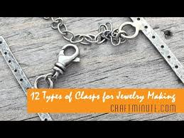 clasp necklace types images 12 types of clasps for jewelry making jpg