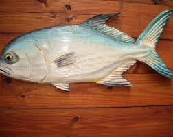 Fish Home Decor Accents Blue Marlin 38 Chainsaw Wood Carving Fish Wall Mount