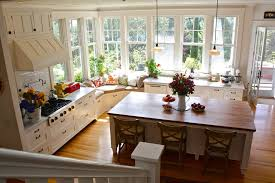 kitchen and breakfast room design ideas bench seat in a bay window dining room kitchens