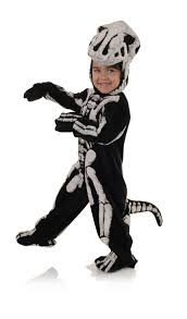 skeleton halloween costumes for kids t rex fossil child costume buycostumes com
