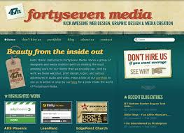 web page design ideas for designing a web page with antique and retro web design