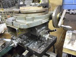 rotary table for milling machine milling machine drilling holes in a circle john f s workshop