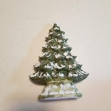 christmas tree no lights find more ceramic christmas tree has holes for pets no pegs 9