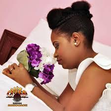 nigeria wedding hair style natural nigerian bride amaechi natural nigerian