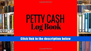 download pdf petty cash log book red 6 column payment record