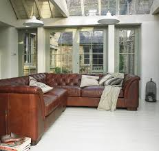 Chesterfield Leather Sofa For Sale by Halo Barbican Leather Corner Sofa Huis Pinterest