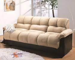 Microfiber Futon Couch Microfiber Klik Klak Sofa With Storage Ara Mo Ara