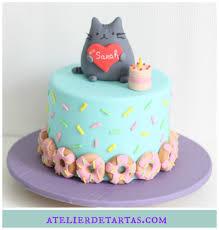 fondant cake pusheen cat fondant cake by atelier de tartas tartas fondant
