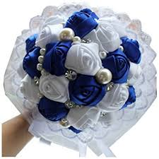 wedding flowers blue and white 2015 new royal blue white wedding flowers bridal