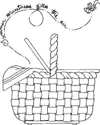 coloring pages appealing basket coloring page pages basket