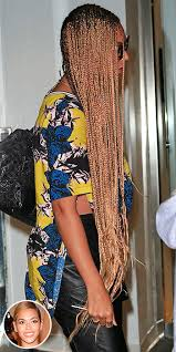 braided extensions beyonce is now rocking box braid extensions