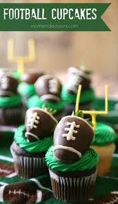 football cupcakes football cupcakes for day