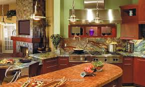 Kitchen Island Chopping Block Custom Wood Butcher Block Island Countertops For Kitchens